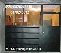 метални врати за вход с 24 пк